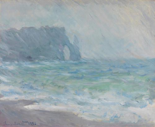 Art Prints of Regnvaer, Etretat by Claude Monet