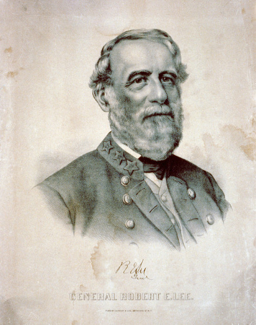 Art Prints of General Robert E. Lee (L-368419) by Currier & Ives
