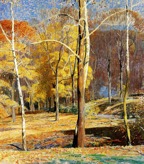 Art Prints of Burning Leaves by Daniel Garber