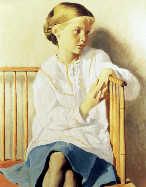 Art Prints of Portrait of Tanis by Daniel Garber