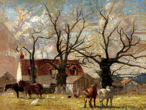 Art Prints of Rural Scene, Wormwood Scrubs by Daniel Garber