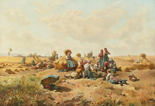 Art Prints of Reapers by Daniel Ridgway Knight