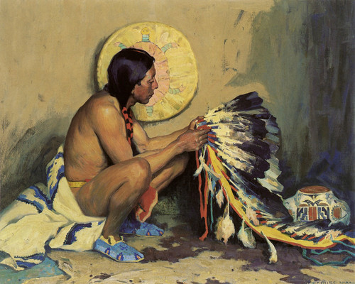 Art Prints of His Choicest Treasures by Eanger Irving Couse