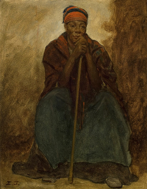 Art Prints of Portrait of an African American Woman by Eastman Johnson
