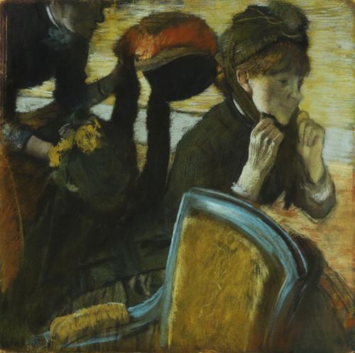 Art Prints of At the Milliner II by Edgar Degas