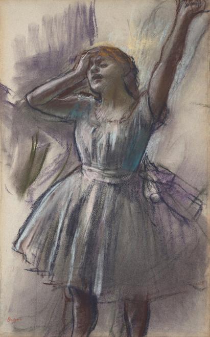 Art Prints of Dancer Stretching by Edgar Degas