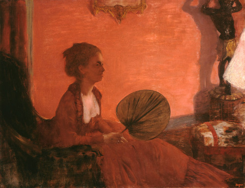 Art Prints of Madame Camus by Edgar Degas