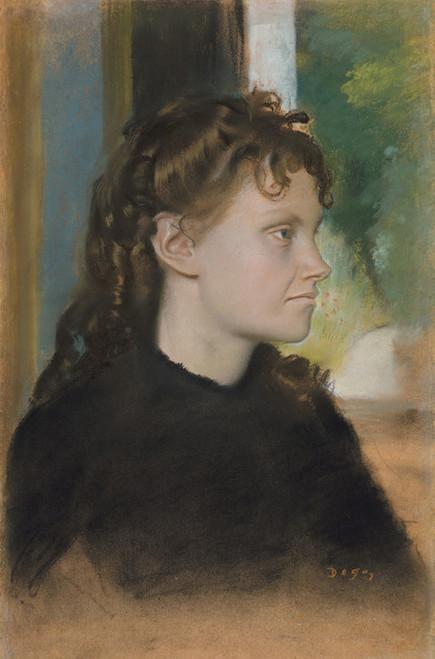 Art Prints of Madame Theodore Gobillard by Edgar Degas