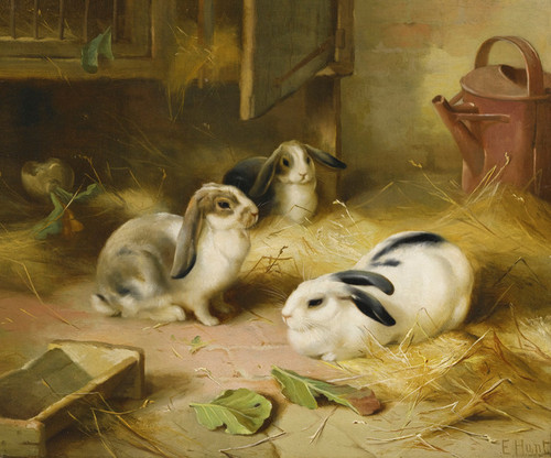 Art Prints of Emily's Pets by Edgar Hunt