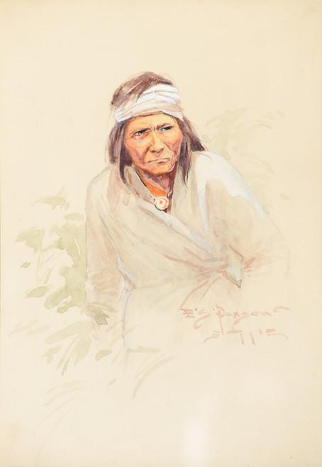 Art Prints of Geronimo by Edgar Samuel Paxson