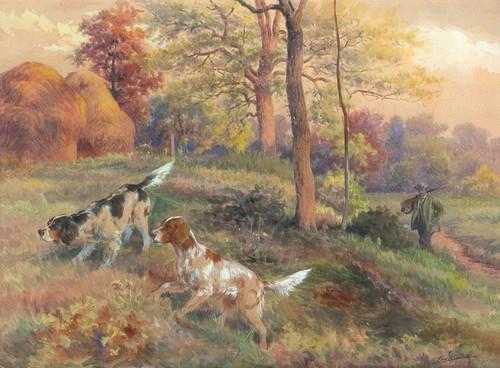 Art Prints of Fall Hunting by Edmund Henry Osthaus