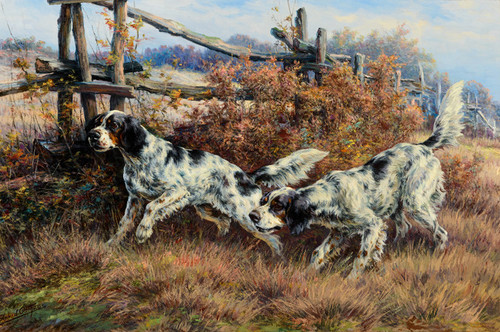 Art Prints of On the Hunt by Edmund Henry Osthaus