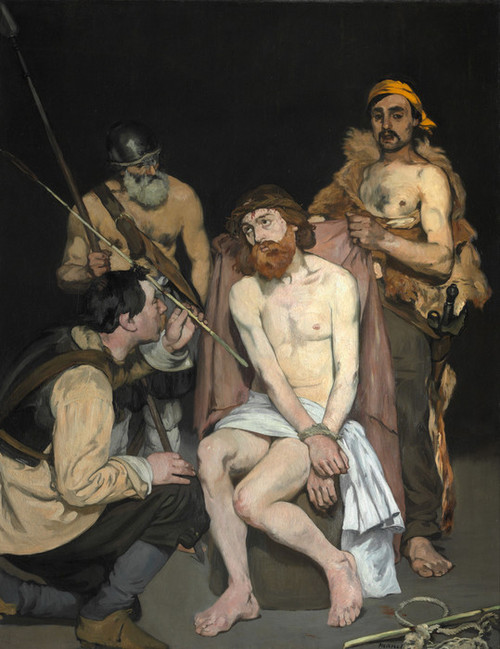 Art Prints of Jesus Mocked by the Soldiers by Edouard Manet