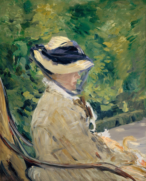 Art Prints of Madame Manet at Bellevue by Edouard Manet