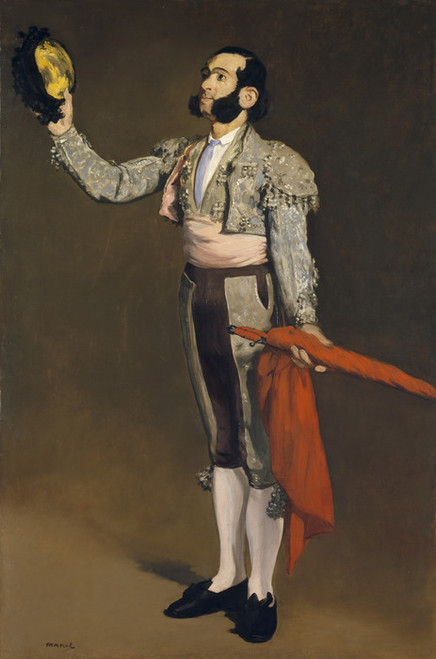 Art Prints of A Matador by Edouard Manet