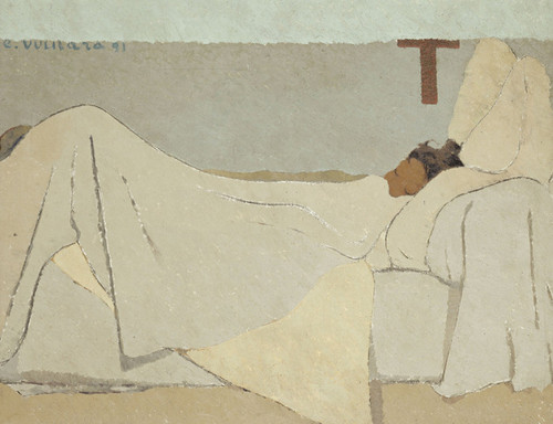 Art Prints of In Bed by Edouard Vuillard