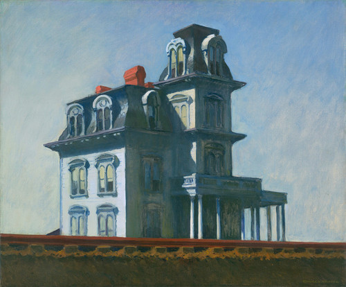Art Prints of House by the Railroad by Edward Hopper