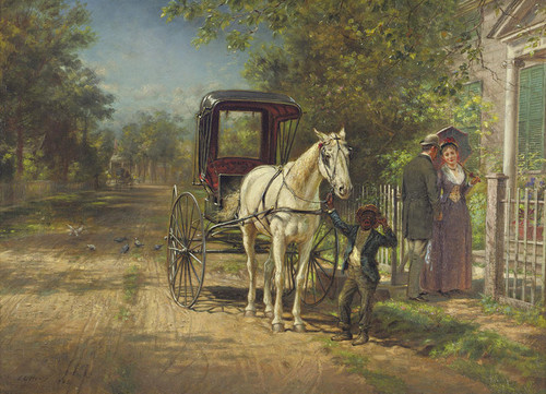 Art Prints of A Lengthy Farewell by Edward Lamson Henry