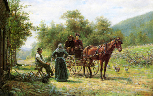 Art Prints of An Informal Call by Edward Lamson Henry