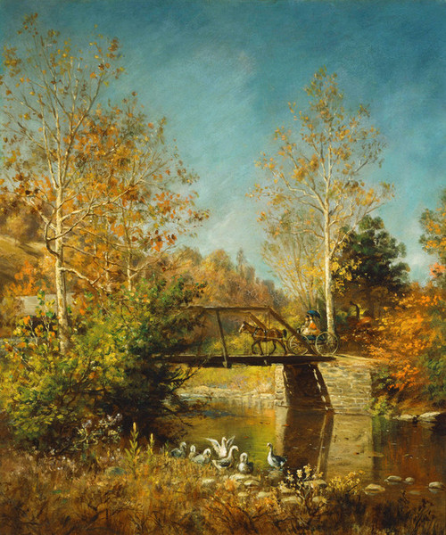 Art Prints of Going to Town by Edward Lamson Henry