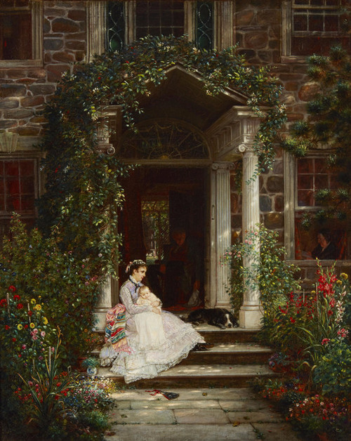 Art Prints of Mother and Child by Edward Lamson Henry