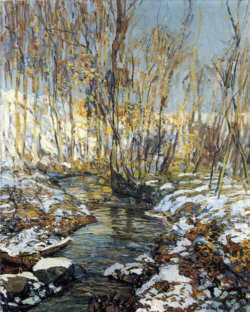 Art Prints of Spring Thaw by Edward Redfield