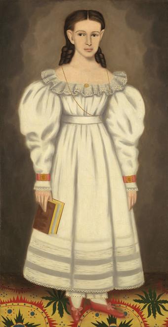 Art Prints of Girl of the Bangs-Phelps Family by Erastus Salisbury Field
