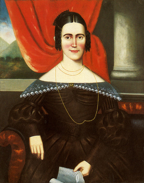 Art Prints of Portrait of Julia Ann Adams Peck by Erastus Salisbury Field