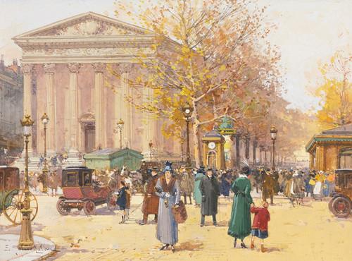 Art Prints of La Madeleine by Eugene Galien-Laloue