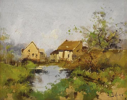 Art Prints of Landscape II by Eugene Galien-Laloue