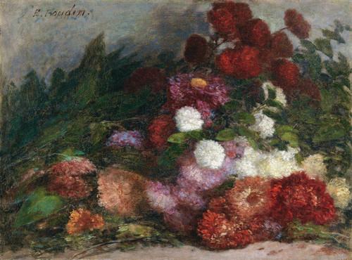 Art Prints of Flower Bunch by Eugene Boudin