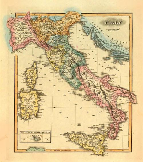 Art Prints of Italy, 1823 (4584029) by John Thomson
