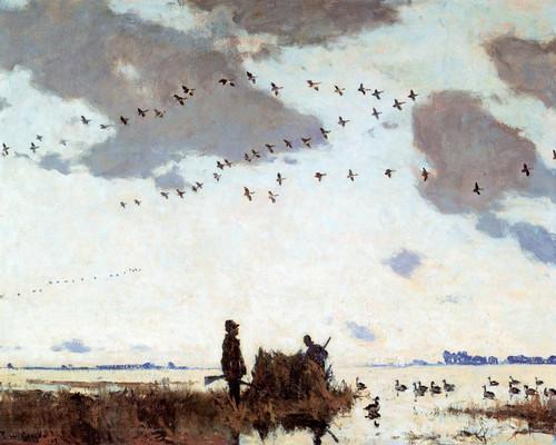 Art Prints of Goose Blind by Frank Weston Benson