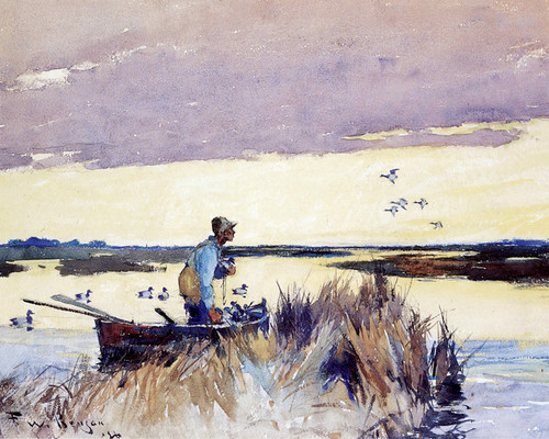 Art Prints of Ducking Hunting by Frank Weston Benson