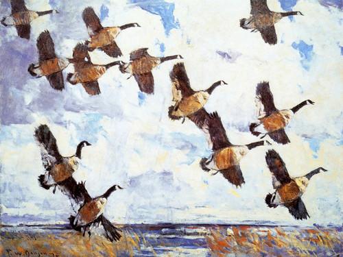 Art Prints of A Northwest Day by Frank Weston Benson