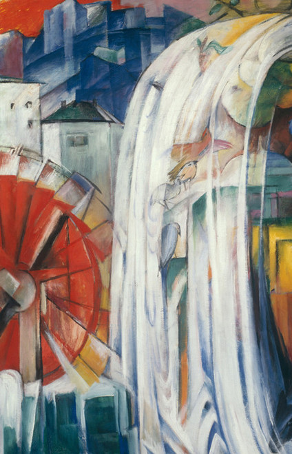 Art Prints of Bewitched Mill by Franz Marc