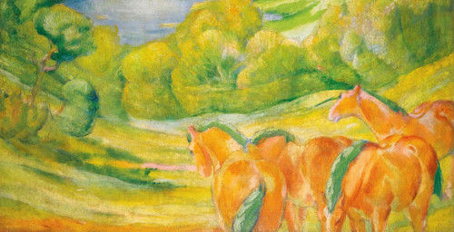 Art Prints of Large Landscape by Franz Marc