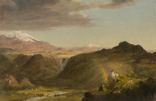 Art Prints of South American Landscape II by Frederic Edwin Church