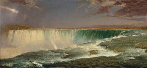 Art Prints of Niagara 1857 by Frederic Edwin Church