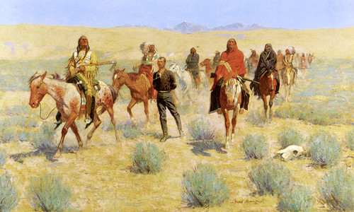 Art Prints of Missing by Frederic Remington