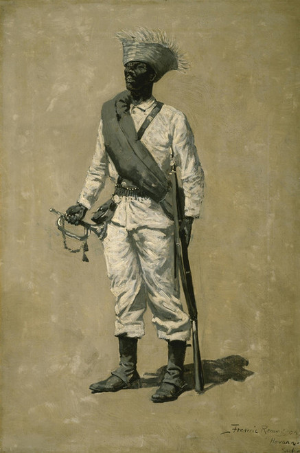 Art Prints of One of Gomez Men by Frederic Remington
