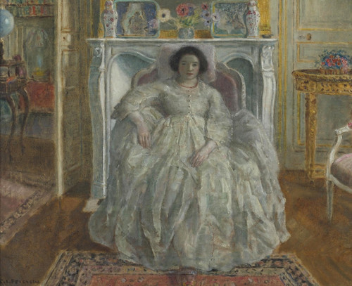 Art Prints of Old Fashion Gown by Frederick Carl Frieseke