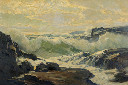 Art Prints of Coast of Maine by Frederick Judd Waugh