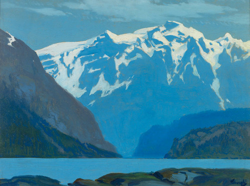 Art Prints of Northwest Desolation Sound, British Columbia by Frederick Judd Waugh