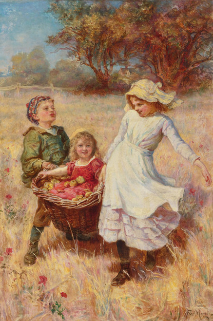 Art Prints of A Heavy Load by Frederick Morgan