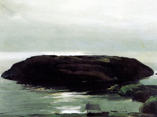 Art Prints of |Art Prints of An Island in the Sea by George Bellows