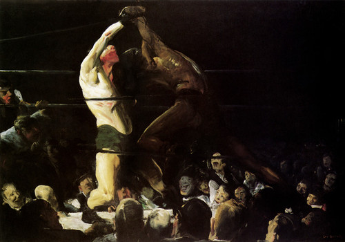 Art Prints of |Art Prints of Both Members of this Club by George Bellows
