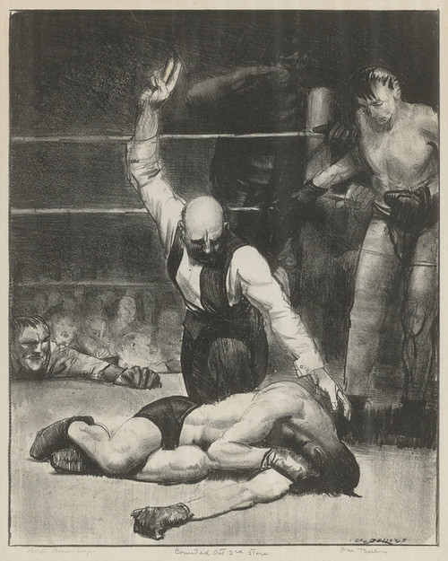Art Prints of  Art Prints of Counted Out, Second Stone Mason by George Bellows