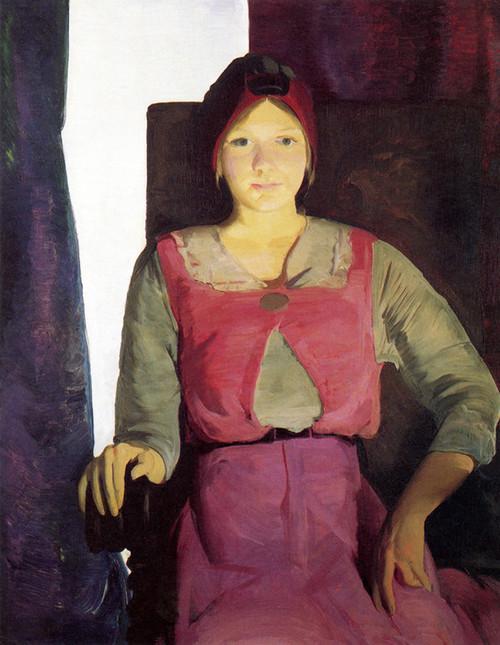 Art Prints of  Art Prints of Geraldine Lee by George Bellows