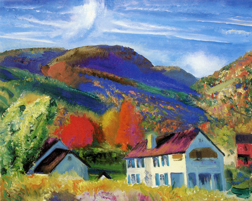 Art Prints of |Art Prints of My House, Woodstock by George Bellows